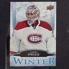 CAREY PRICE  2016  Upper Deck  Winter PROMO  #W7  Montreal Canadiens