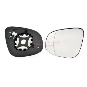 Mercedes Citan Heated Wing Mirror Large Glass N/S + Backing Plate 2012>2016