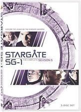 Stargate SG-1 ~ Complete 5th Fifth Season 5 Five ~ BRAND NEW 5-DISC DVD SET