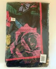 "NEW NWT VERA BRADLEY HAVANA ROSE BEACH TOWEL 12329-G01 (33"" x 66"") RETIRED"