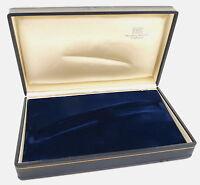 ORIGINAL IWC PRUNK-BOX - BLAU für GOLDENE INGENIEUR 1960er Jahre