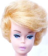 Spectacular Vintage Blonde Bubble Cut Barbie Doll with Lavender Lips MINT
