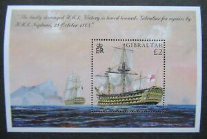 RECENT VF MNH SHEET BRITISH GIBRALTAR GREAT BRITAIN UK SHIP B351.22 START $0.99