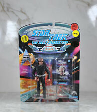STAR TREK NEXT GENERATION LT WORF IN STARFLEET RESCUE OUTFIT FIGURE NEW/SEALED