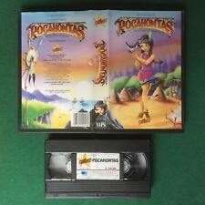 VHS Stardust LE AVVENTURE DI POCAHONTAS PRINCIPESSA INDIANA (ITA 1995) S 12156