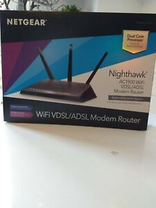 Netgear Nighthawk D7000-100PES AC1900 WLAN VDSL/ADSL Modem Router