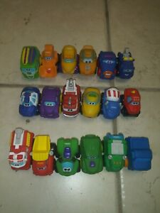 Lil Chuck And Friends Hasbro Tonka Vehicle Lot Of 18 Great Shape