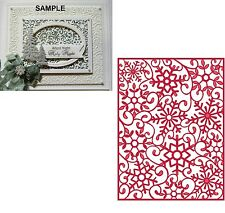 Creative Expressions Sue Wilson Dies Festive Collection - FROSTY MINI BACKGROUND