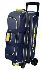 Storm 3 Ball Streamline Bowling Roller Bag Navy/Grey/Yellow