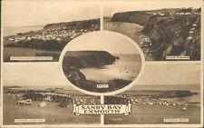 Exmouth; sandy bay 5 views; 1952