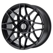 Ford Mustang GT500 Style Wheel 18x9 +30 Satin Black 5x114.3 5x4.5 (QTY 1)