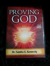 Proving God Dr. Sandra G. Kennedy 3 AUDIO CD Set