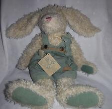 "Boyds Bears Long Eared Rabbit Carrot Roscoe 19"" Plush Soft Toy Stuffed Animal"