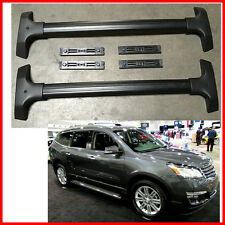For 09-15 Chevy Traverado OE Style Aluminum Roof Rack Cross Bar Luggage Carrier