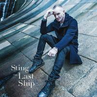STING ~ The Last Ship~ 2016 UK A&M Records 10-trk CD album in replica g/f sleeve
