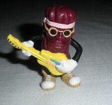 """California Raisins Jimi Hendrix Guitar Man 2"""" Tall PVC Figure"""