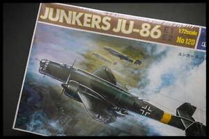 Italeri Italaerei Junkers JU86 E1/ E2 German Bomber 1:72 Model Kit Sealed Box