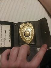 NYState Federal Firearms License Wallet Badge From Brooklyn Ny 1976 hard to find