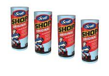 4 Rolls Scott Shop Original 220 Towels Heavy Duty Multi-Prupose Cleaning Cloths