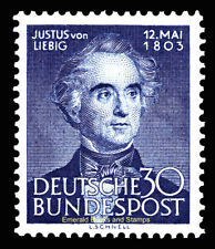 EBS Germany 1953 Justus von Liebig - Michel 166 MNH** cv $55.00
