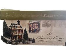 Heritage Village Dept 56 Dickens' Village Chancery Corner Set w/Box