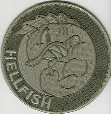 PARCHE THE SIMPSONS ABE`S SIMPSON FLYING HELLFISH SUBDUED  VELCRO PATCH