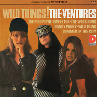 "The Ventures • Wild Things! • 12"" VINYL RECORD LP 1966 Sundazed 2012 •• NEW ••"
