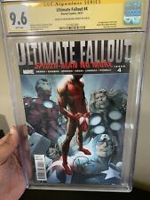 Ultimate Fallout 4 cgc 9.6 1st Printing  Signed Bendis 🔥