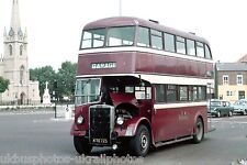 Rossendale JTC 5 KTE725 Leyland PD2 Bus Photo Ref P680