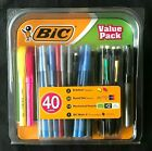 NEW+Bic+Value+Pack+40-ct+Round+Stic+Ball+Pens+Briteliner+Highlighter+Pencils+Set