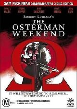Osterman Weekend ( 2 DISC DVD SET ) 1983 THRILLER Robert Ludlum Rutger Hauer
