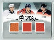 10-11 UD The Cup Trios  M Paajarvi-M Johansson-M Tedenby  /25  Jerseys  Rookies