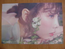 TAEYEON GIRLS' GENERATION My Voice Deluxe (Blossom Ver.) [OFFICIAL] POSTER SNSD
