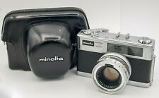 Minolta Hi-Matic 11 35mm Film Rangefinder Camera Rokkor-PF 45mm F1.7 Lens *Read*