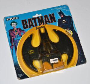 1989 Batman & Joker BATWING Die Cast Metal ERTL Toy, SEALED, Never Opened!
