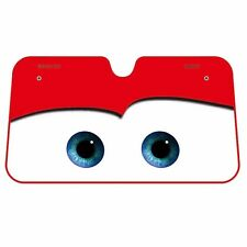 Napolex DC-53 Disney Pixar Cars Lightning McQueen Front Windshield Sun Shade Red