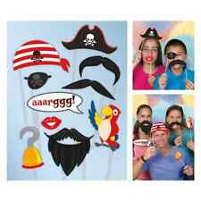 Pirate Party Photo Props 10pcs FREE P&P