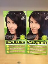 Naturtint Permanent Hair Colourant 2 Packs X 165 Ml Ebony Black 1N