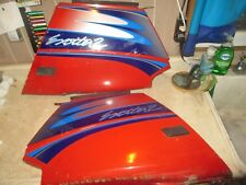 91 92 93 YAMAHA EXCITER 570 II RED RIGHT & LEFT SIDE BODY PANELS COVERS FAIRINGS