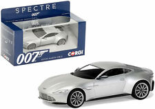 Voitures miniatures argentés james bond