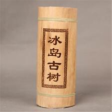 500g Yunnan Puerh Tea Dragon Pillar Bamboo Tube Iceland Old Tree Puer Pu-erh Tea