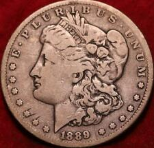 1889-CC Carson City Mint Silver Morgan Dollar