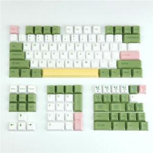Mojito Green Theme Custom Keycaps Key Cap Set  for Cherry MX Mechanical Keyboard