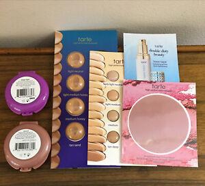 Tarte Shape Tape Pore & Prime Balm + 12hr Blush EXPOSED, Travel Minis NEW