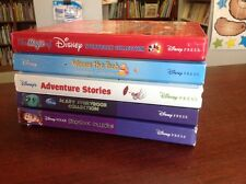 Lot of 5 DISNEY STORYBOOKS Press ALL HC Collection Pixar Scary Adventure Pooh