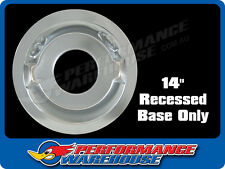 """AIR CLEANER RECESSED BASE 14"""" SUITS 5-1/8"""" CARB NECK HOLLEY, EDELBROCK"""