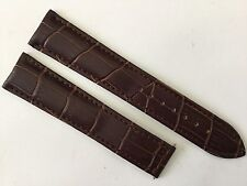 New 20MM Brown Soft Padded Strap Band Bracelet For Omega Speed & Seamaster