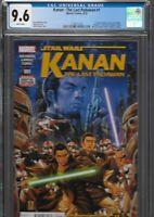 Kanan 1 CGC 9.6 Star Wars Rebels 1st Sabine Wren Ezra Bridger Hera Zeb Chopper