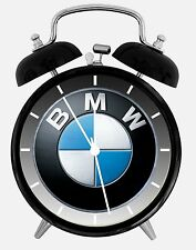 """BMW Alarm Desk Clock 3.75"""" Home or Office Decor W429 Nice For Gift"""
