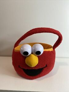 Sesame Street Elmo Easter Egg Basket Plush Cute